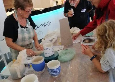Artisan Collective pottery classes